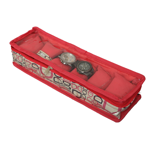 Watch box with 6 rolls