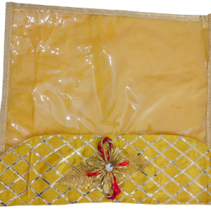 Flower based packing cover