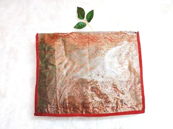 Saree Packing Cover. Wedding Saree Packing Cover